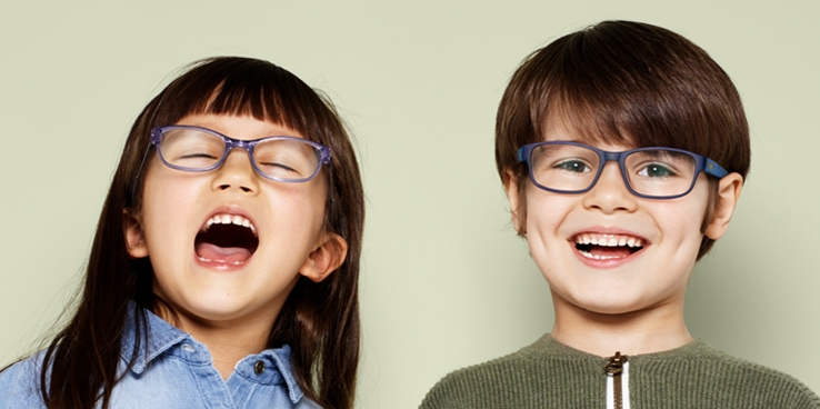 Osta näöntutkimus - saat lasten silmälasit kaupan päälle