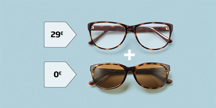 Toiset silmälasit ilmaiseksi